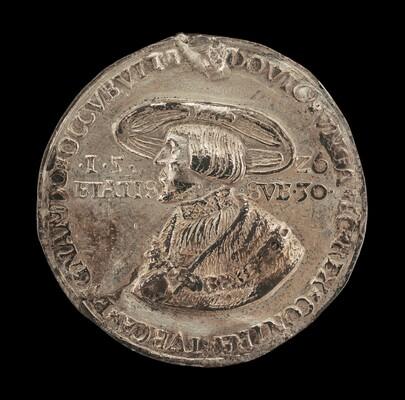 Louis II, 1506-1526, King of Hungary and Bohemia 1516 [obverse]