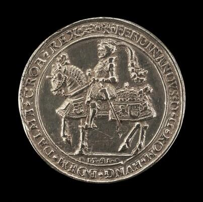 Ferdinand I, 1503-1564, Archduke of Austria 1519, Emperor 1556 [obverse]