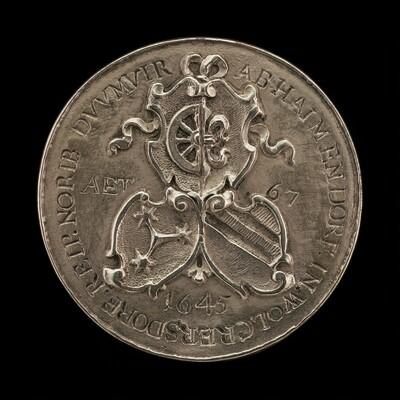 Shields of Fürer von Haimendorf and His Two Wives [reverse]