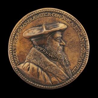 Viglius van Aytta of Zuichem, 1507-1577, Lawyer and Humanist [obverse]