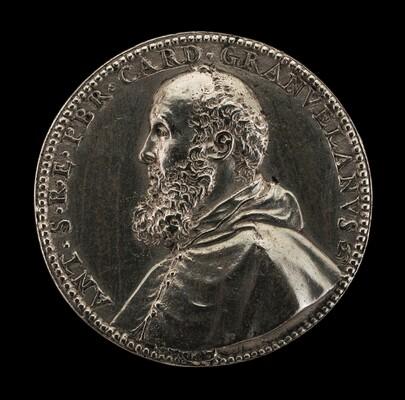 Antoine Perrenot, Cardinal Granvelle, 1517-1586, Bishop of Arras 1540, Cardinal 1561 [obverse]