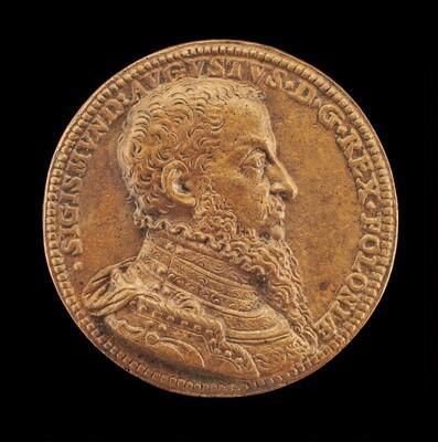 Sigismund II Augustus, 1520-1572, King of Poland 1548 [obverse]
