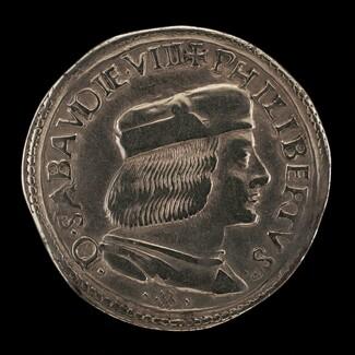 Filiberto II le Beau (the Fair), 1480-1504, 8th Duke of Savoy 1497 [obverse]
