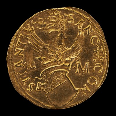 Crowned Shield, Eagle Crest [reverse]