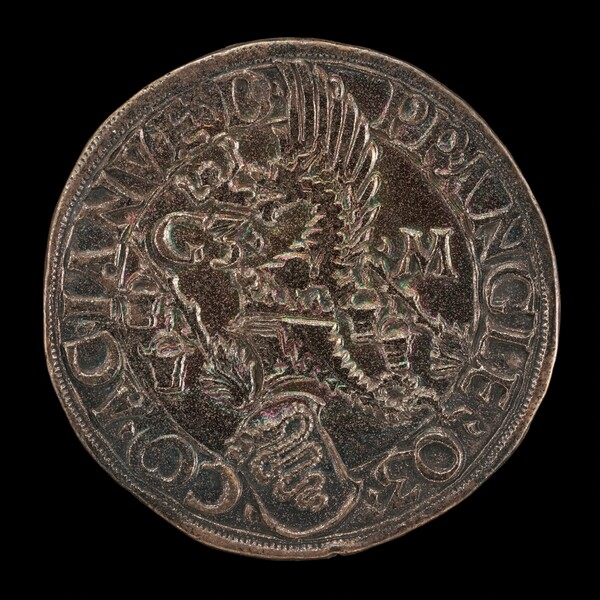 Crowned Casque with Dragon Crest [reverse]