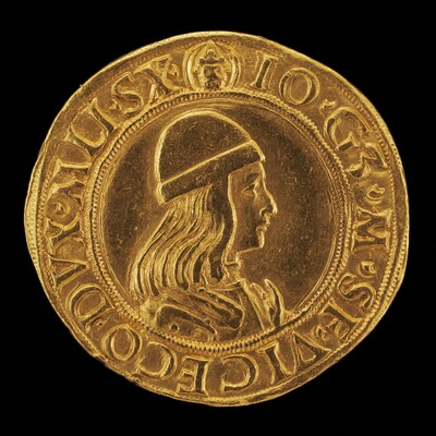 Giangaleazzo Maria Sforza, 1469-1494, 6th Duke of Milan 1476 [obverse]
