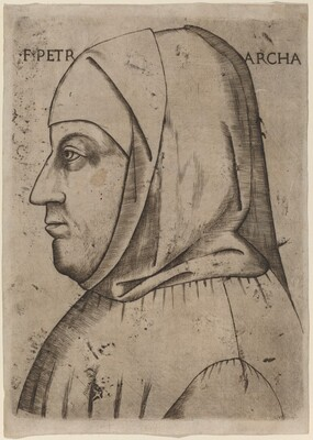Portrait of Petrarch