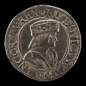 Louis XII, 1462-1515, King of France 1498, as Duke of Milan 1500-1513 [obverse]