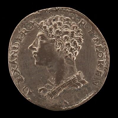 Alessandro de' Medici, 1512-1537, 1st Duke of Florence 1523 [obverse]
