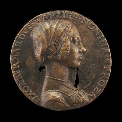 Nonnina Strozzi, Wife of Bernardo Barbigia [obverse]