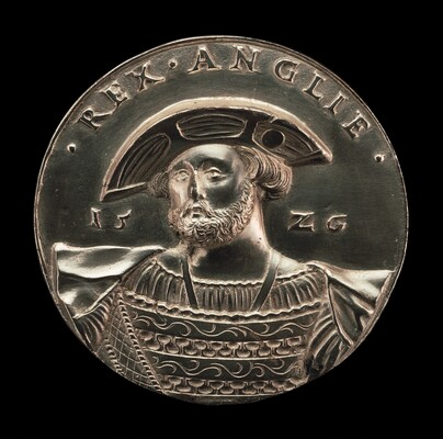 Henry VIII, 1491-1547, King of England 1509 [obverse]