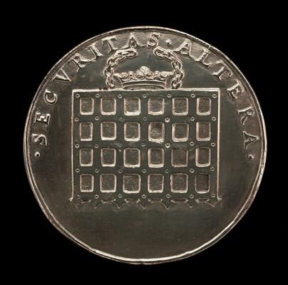 Tudor Portcullis Crowned [reverse]