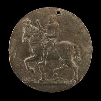 François I on Horseback [reverse]