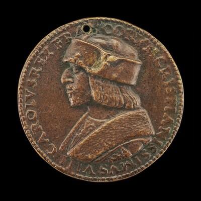 Charles VIII (L'Affable), King of France, 1470-1498 [obverse]