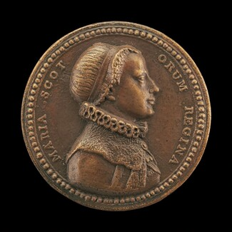 Mary Stuart, 1542-1587, Queen of Scots [obverse]