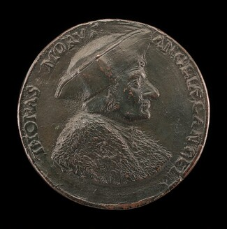 Sir Thomas More, 1480-1535, Lord Chancellor of England 1529 [obverse]