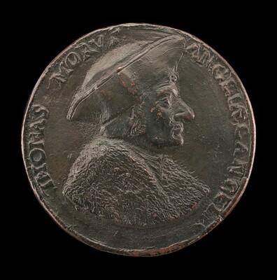 Sir Thomas More, 1480-1535, Lord Chancellor of England 1529 [obverse]