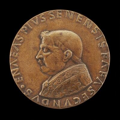 Pius II (Aeneas Silvius Piccolomini, 1405-1464), Pope 1458 [obverse]