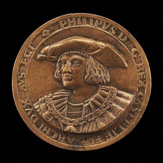 Philip II, 1527-1598, King of Spain 1556 [obverse]
