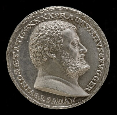 Raymund Fugger, 1489-1535, Scholar and Patron of the Arts [obverse]
