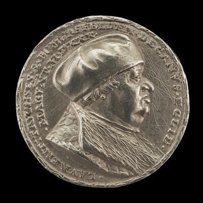 Lorenz Truchsess von Pommersfelden, 1473-1543, Dean of the Cathedral of Mainz [obverse]