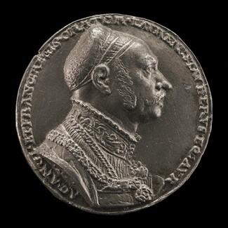 Lorenz Staiber, 1485/1486-1539, Patrician of Nuremberg, Writer, and Orator [obverse]