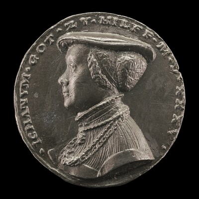 Magdalena Rummel, Wife of Lorenz Staiber 1509 [reverse]