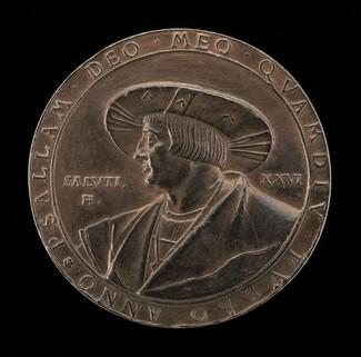 Ludwig Senfl (Sennfel), c. 1486-1542/1543, German Musician and Composer [obverse]
