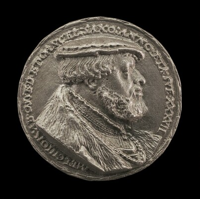 Melchior von Osse, 1506-1557, Chancellor of Saxony [obverse]