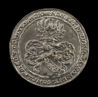 Arms and Inscription [reverse]