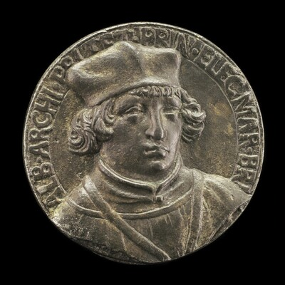 Albrecht of Brandenburg, 1490-1545, Cardinal 1518 [obverse]