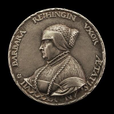 Barbara Reihing, 1491-1566, Wife of Georg Hermann 1512 [obverse]