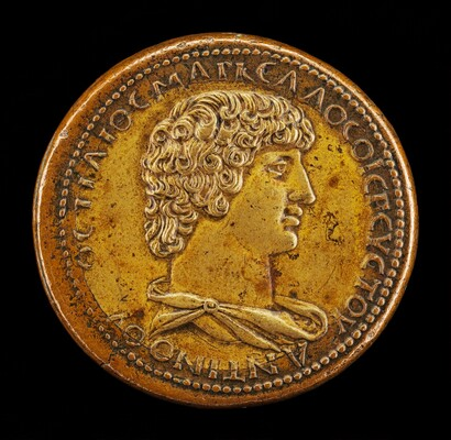 Antinous, died A.D.130, Favorite of the Emperor Hadrian [obverse]