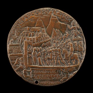 Alfonso's Triumphal Entry into Naples [reverse]