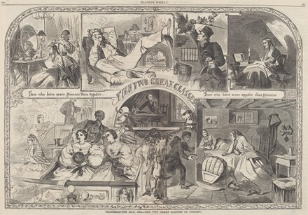 Thanksgiving Day, 1860 - The Two Great Classes of Society