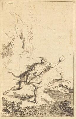 Envoy to M. de Saint-Denis by M. de Belle-Isle, Prisoner [left]
