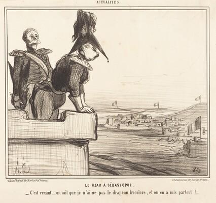 Le Czar a Sébastopol