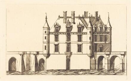 Chateau de Chenonceau, 1re planche (The Chateau of Chenonceau, 1st plate)