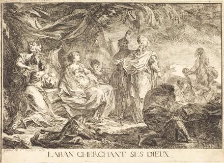Laban cherchant ses dieux