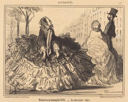 Modes du printemps de 1855