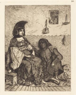 Jewish Woman of Algiers (Juive d'Alger)