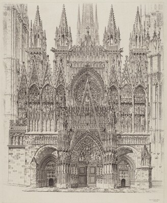 Lace in Stone, Rouen Cathedral