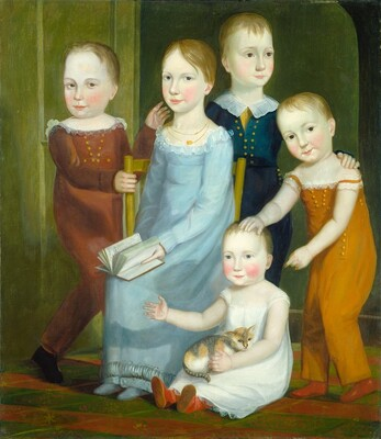 Five Children of the Budd Family
