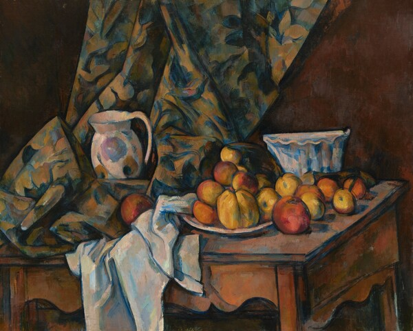 Still Life with Apples and Peaches