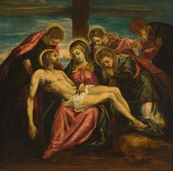 Circle of Jacopo Tintoretto, Lamentation, 1580s