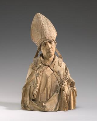 A Bishop Saint (Burchard of Würzburg?)