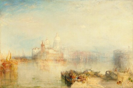 The Dogana and Santa Maria della Salute, Venice