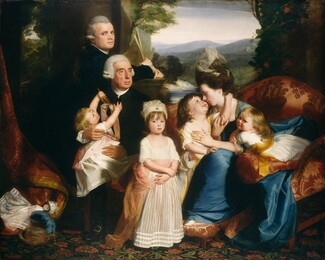 John Singleton Copley, The Copley Family, 1776/17771776/1777