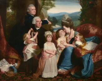 John Singleton Copley, The Copley Family, 1776/17771776/1777
