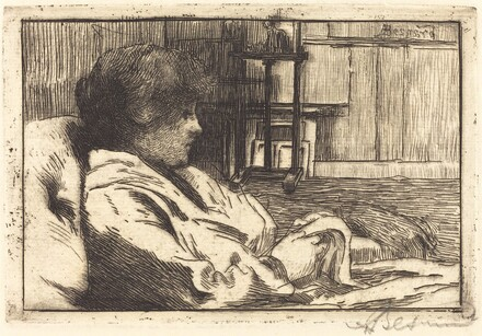 Woman Reading in the Atelier (La lecture dans l'atelier)